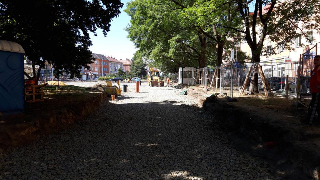 Jak problíhá rekonstrukce Mariánského náměstí v Ostravě 9