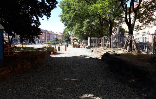 Rekonstrukce Mariánského náměstí v Ostravě 3