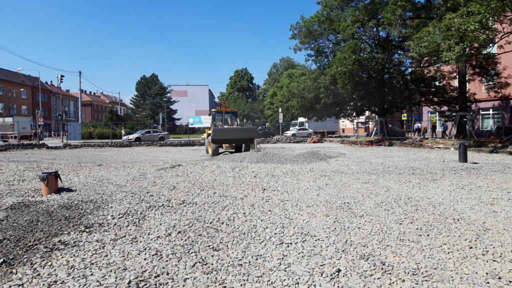 Jak problíhá rekonstrukce Mariánského náměstí v Ostravě 8