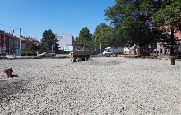 Rekonstrukce Mariánského náměstí v Ostravě 4