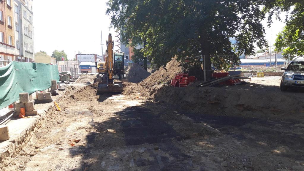 Jak problíhá rekonstrukce Mariánského náměstí v Ostravě 7