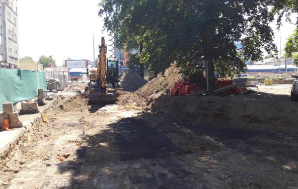 Rekonstrukce Mariánského náměstí v Ostravě 5