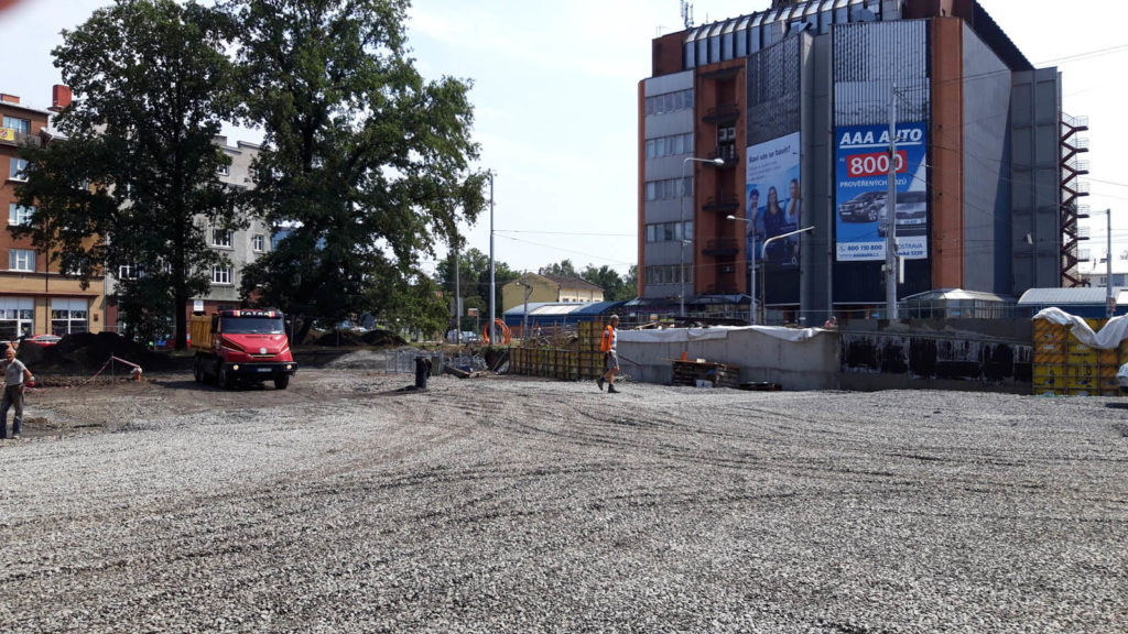 Jak problíhá rekonstrukce Mariánského náměstí v Ostravě 5
