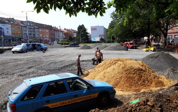 Rekonstrukce Mariánského náměstí v Ostravě 8