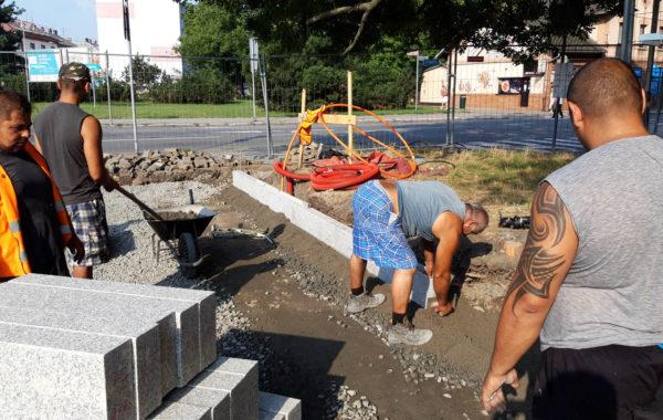 Rekonstrukce Mariánského náměstí v Ostravě 11