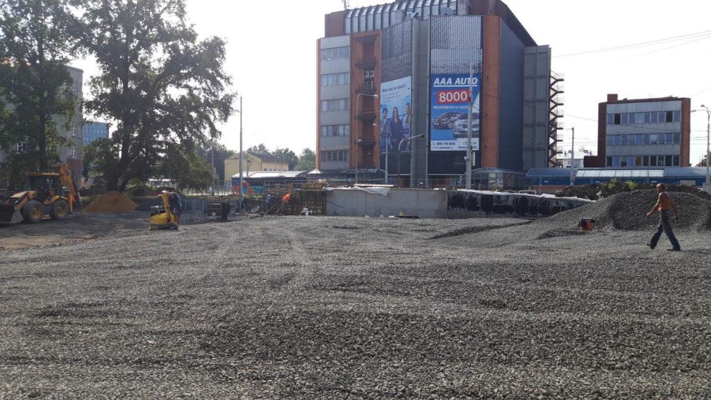 Jak problíhá rekonstrukce Mariánského náměstí v Ostravě 1