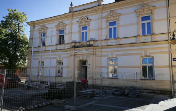 Stavební úpravy budovy Městského úřadu, Náměstí č.p. 3, Frýdlant nad Ostravicí 1