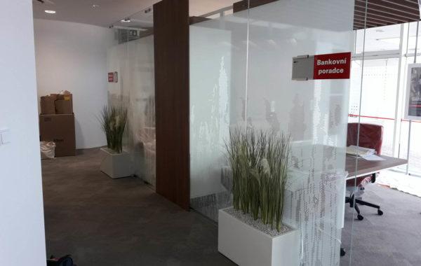 Rekonstrukce pobočky u Komerční Banky 1