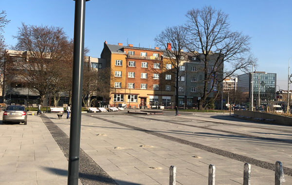 Rekonstrukce Mariánského náměstí v Ostravě 2