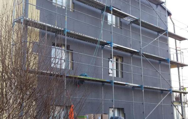 Zateplení bytového domu v Ostrava-Martinově 1