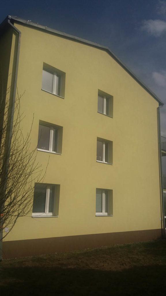 Zateplení bytového domu v Martinově 2